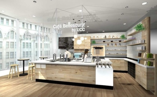 Cafe Bellesourir by UCC なんばマルイ店